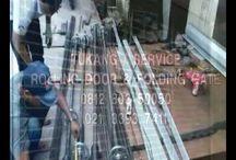 085101937411 - TEKNISI ROLLING DOOR AUTOMATIC & MANUAL: PEMASANGAN & SER...