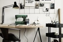 Working Space / Einen kreativen Arbeitsplatz schaffen.