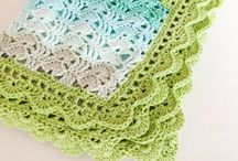 Crochet baby blankets / by Katy Wickens O'Brien
