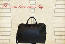 The travel guide / Weekend bags in fashion design