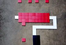 World of Urban Art : INVADER  [France]