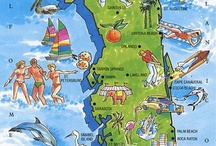 FLORIDA ~ Once Upon A Time ... / Betcha didn't know these things about FLORIDA ... And IF you are from Florida (a rarity these days) its good to remember what once was here and part of the Land of Sunshine.  For all others ...Welcome Ya'll !  But - remember, walk gently through our trails. Leave  a good memory behind you!  Notice: Flip Flops and Manners are Mandatory Statewide! / by HE