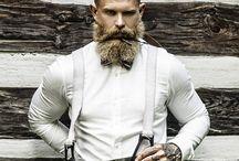 beard fashion tatto