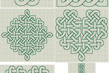 celtic  quilt / by rosella horst