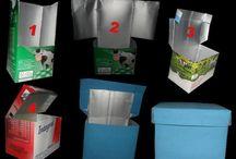 ideias com embalagens