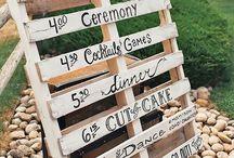 Aussendeko Hochzeit