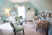 shabby chic work room