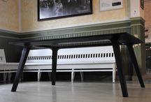 Solid wood furniture. Jaloja massiivipuuhuonekaluja mittatilaustyönä.