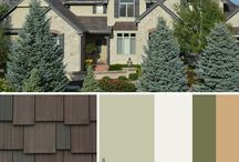 Tahoe - Top Down Color / Home Exterior Color Schemes with DaVinci Shake Roof
