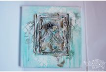 Canvases and frames / my work