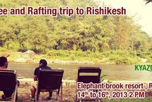 KyaZoonga.com: Buy tickets for Bungee and Rafting trip to Rishikesh