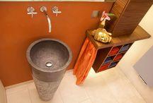 Gäste-Bad und Gäste-WC