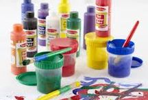 Maling og farver / Stort udvalg af maling og farver til stenmaling, papir, pap, metal, tekstiler og meget mere til din kreative hobby.