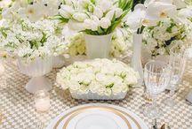 White Wedding / All white wedding inspiration