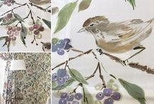 Fabrics with animal