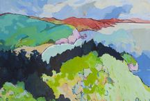 Landscapes / a selection of paintings by contemporary colorist Angus Wilson