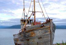 Старые старые лодки