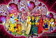 Art Work - Krishna Balaram / Amazing wallpapers of Krishna Balaram maid by ISKCON Desire Tree