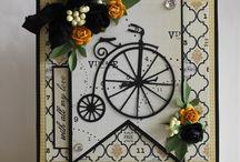 Vintage Bicycle Die