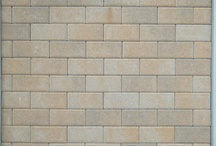 Brick Paver Laying Patterns / Sample boards of brick pavers and laying patterns