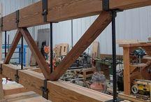 Wooden constructions