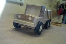 Container truck / made this truck for the grandson of a colleague