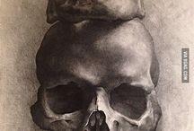 Memento Mori (Skulls & Skeletons Database) / Ibid.