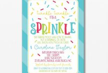 "Baby Sprinkle, Blue / ""Sprinkles"" baby boy sprinkle theme. DIY, planning, decor, fun food and more!"