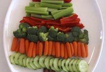 Christmast vegetables