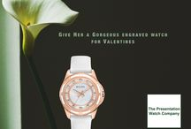 Women's Watches / Women's engraved watches and other