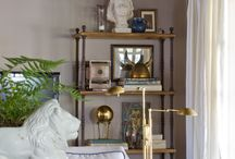 Shelf & table styling