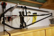 Windsurfing storage / Great way to store your windsurfing equipment in your garage or storage room