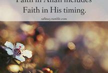 faith in Allah / by Syed Nausheen