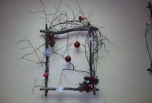 Новогодний декор / Украшаем дом к Новому году вместе с детьми