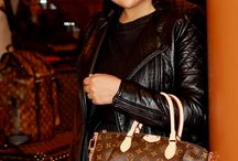 OOTD: Leather Jacket and LV Bag / more on >>> http://themilanomode.com/2014/11/22/louis-vuitton-cocktail-party-and-launching-of-icon-magazine/