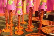 wedding decor - marigold option