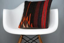 Bohemian Kilim Pillow Covers / Decorative Kilim Pillow Covers from old turkish kiims. Easiest way to create a bohemian home decor with low budgets.