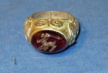 Rings / Afghan tribal Kuchi rings.