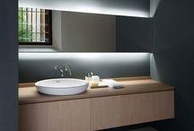 łazienka oświetlenie