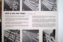 macrame hangers/wandkleden enz