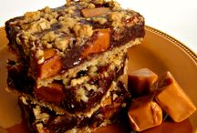 Recipes to Try -- Sweet Treats -- Cookies/Bars / Fork-free Desserts (Cookies, Brownies, & Sweet bars) to try for a special day / by Rachel Grimm