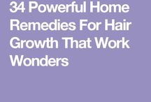 Home remedies for hair