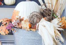 jesień-dekoracje