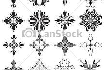 Ideas for Wall ( Stencils, decals Wallpaper)