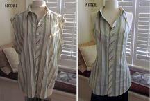 Hemden neu verwertet