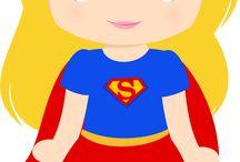 Niver Super Heroínas