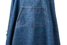 Ponchos Jeans