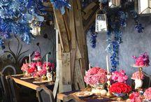 Fantasty Table Inspiration / Top designers create fantasy dining scenes.