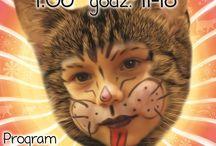 """2014 DZIEŃ DZIECKA Z FUNDACJĄ FELINEUS / Tymczasem już w niedzielę DZIEŃ DZIECKA, zapraszamy dzieci z rodzicami od 11 do 18 do C.H..Millenium Hall, sklep Nika Zoo II p. na świetną zabawę!  W programie kiermasz kocich gadżetów, w tym gadżetów wykonanych przez naszego Gościa specjalnego- Marcina Peckę (http://www.pecek.pl/), stoisko fundacji, warsztaty dla dzieci i rodziców"""" KOCIA WIOSKA""""- tworzenie kocich domków i placu zabaw, malowanie buzi, zbiórka karmy dla podopiecznych fundacji.  Serdecznie zapraszamy!!!!!"""