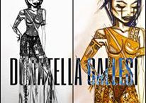 RIO MADGIRLS - CAPSULE COLLECTION / FASHION SKETCHES
